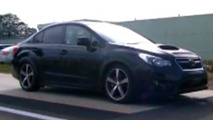 2015 Subaru WRX caught on camera almost undisguised?