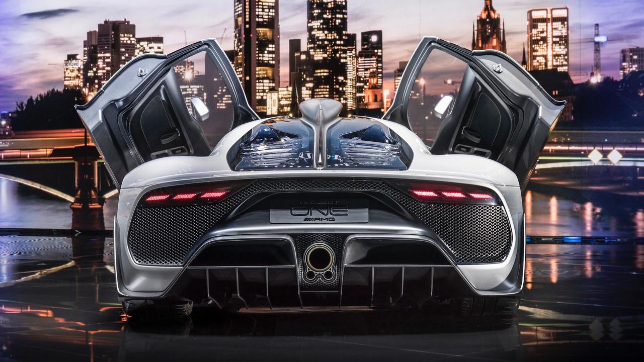 Mercedes-AMG Project One: Frankfurt 2017