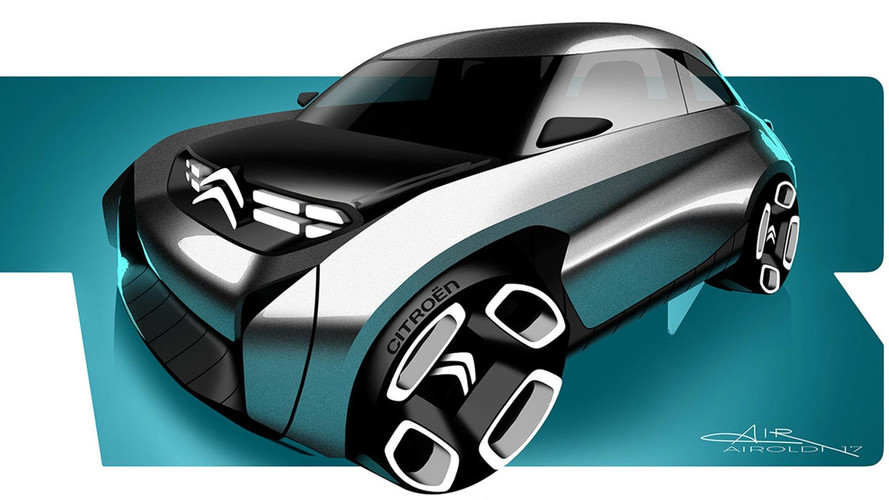 Designer Imagines Retro-Inspired Three-Seater Citroën EV
