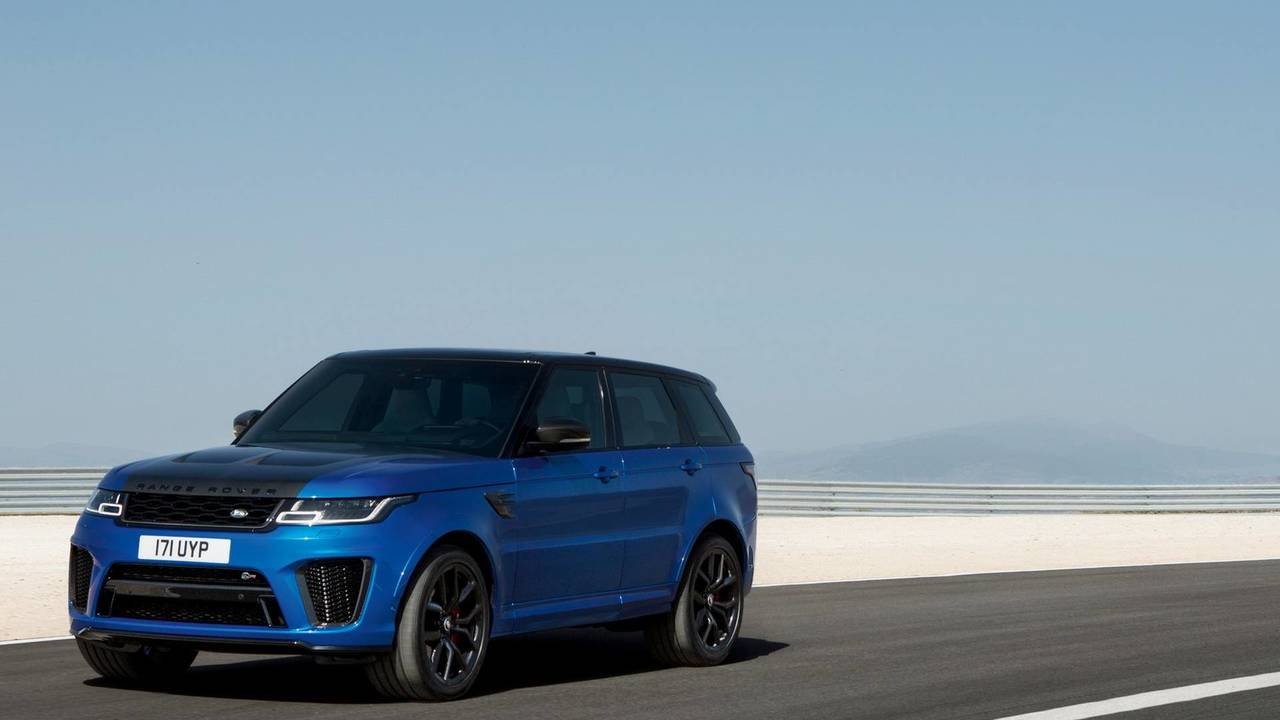 2018 land rover commercial. contemporary land 2018 range rover sport svr with land rover commercial