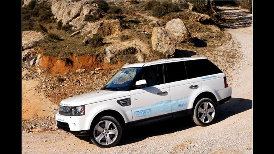 Weniger CO2 als ein Kleinwagen: Range_e von Land Rover