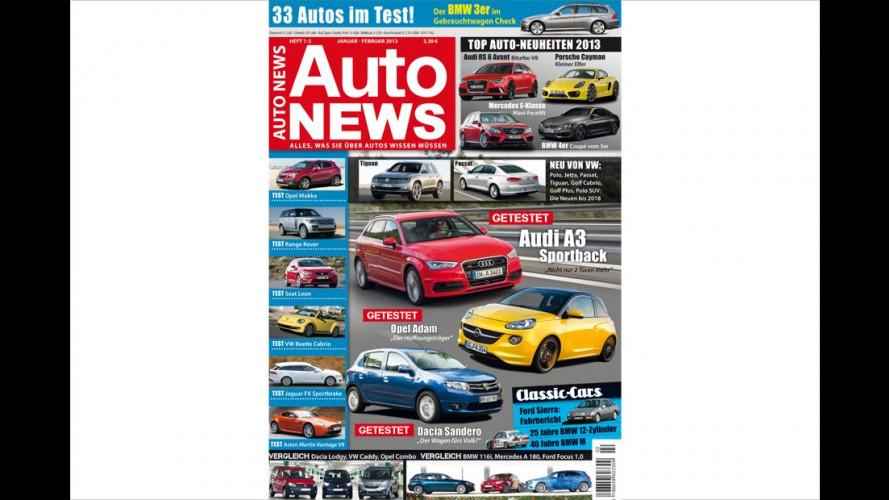 AutoNEWS 03-04/2013: Jetzt im Zeitschriftenhandel