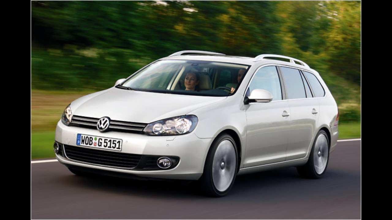 VW Golf Variant 1.6 TDI BlueMotion Technology