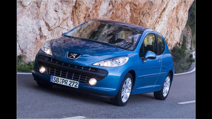 Peugeot 207: Mit sauberen Motoren in den November