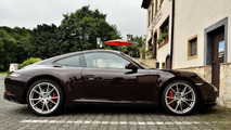 2016 Porsche 911 Carrera facelift spy photo
