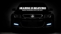 Holden Commodore VFII teaser