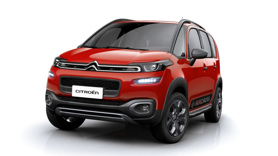 citroen launches updated c3 aircross for latin america. Black Bedroom Furniture Sets. Home Design Ideas