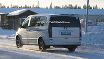 Mercedes Viano Facelift Spy Photos