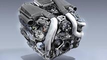 New Mercedes-Benz 4.6 liter V8 engine 07.05.2010