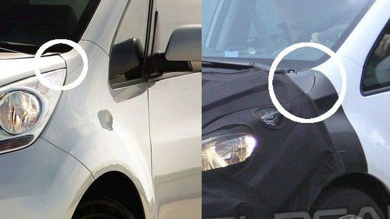 Mystery Kia Venga spy photo comparison - 654 - 15.04.2010