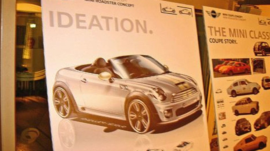 MINI Roadster Concept Sketch Revealed