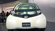 Toyota FT-EV II Concept live in Tokyo