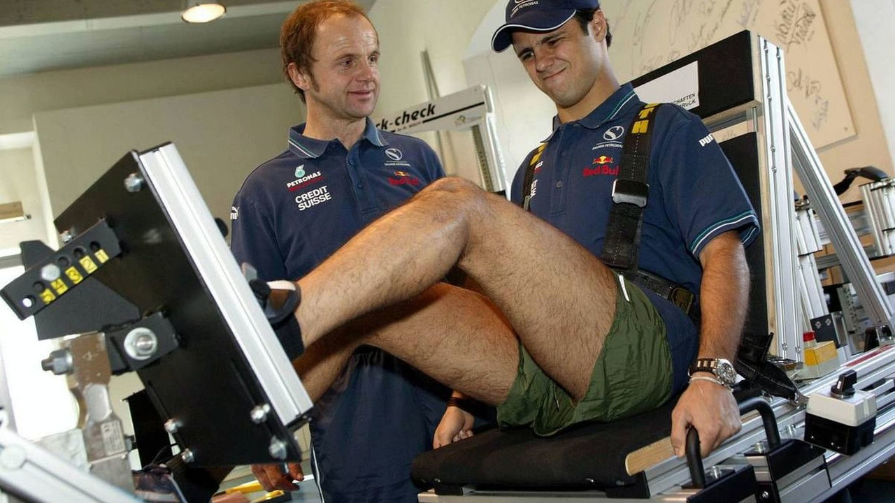 Felipe Massa, Team SAUBER PETRONAS, Seefeld, Österreich, Austria, 21.11.2003