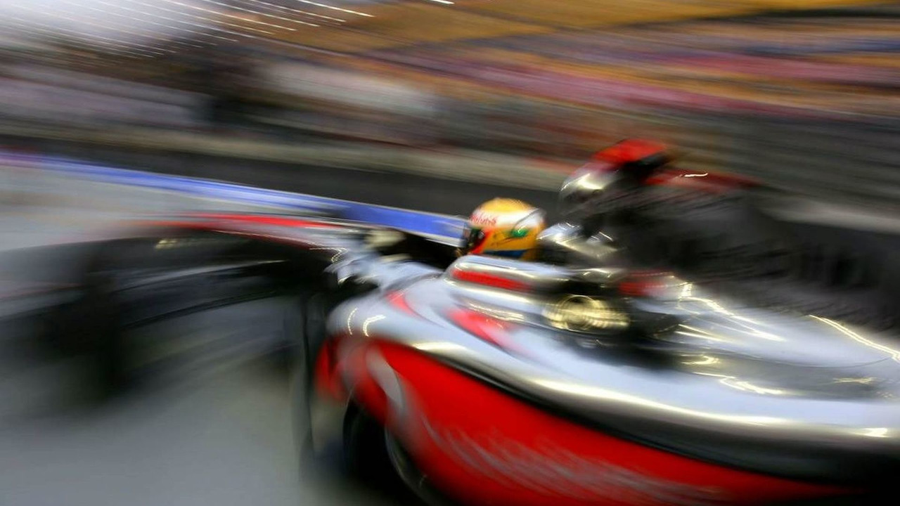 Lewis Hamilton (GBR), McLaren Mercedes, Singapore Grand Prix, 25.09.2009