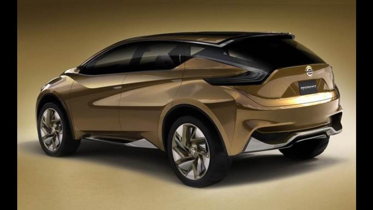 Nissan confirma novo Murano para o Salão de Genebra