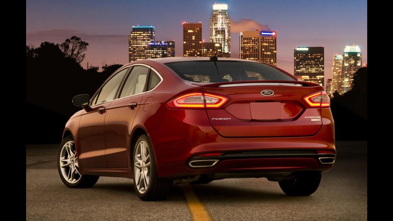Após fabricar Fusion nos EUA, Ford faz liquidação para baixar estoques do sedã
