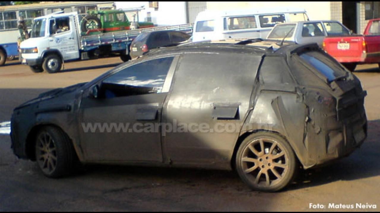Segredo: Leitor flagra o Novo Fiat Bravo em testes no Brasil e seu motor