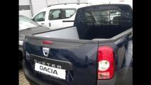 Flagra: Renault Duster aparece em forma de picape!
