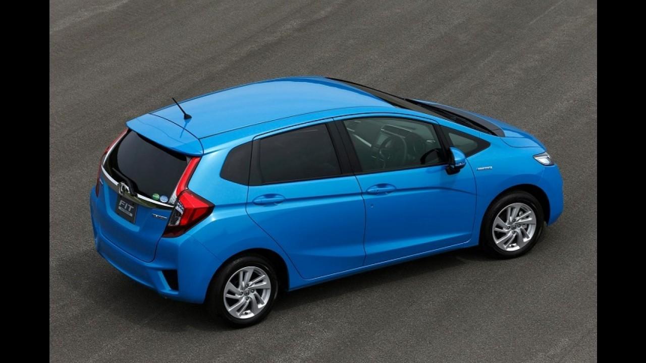Honda Fit Hybrid é eleito o Carro do Ano 2014 no Japão