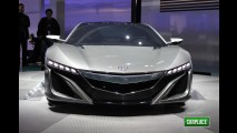 Direto de Detroit: Acura NSX Concept antecipa nova geração do esportivo japonês