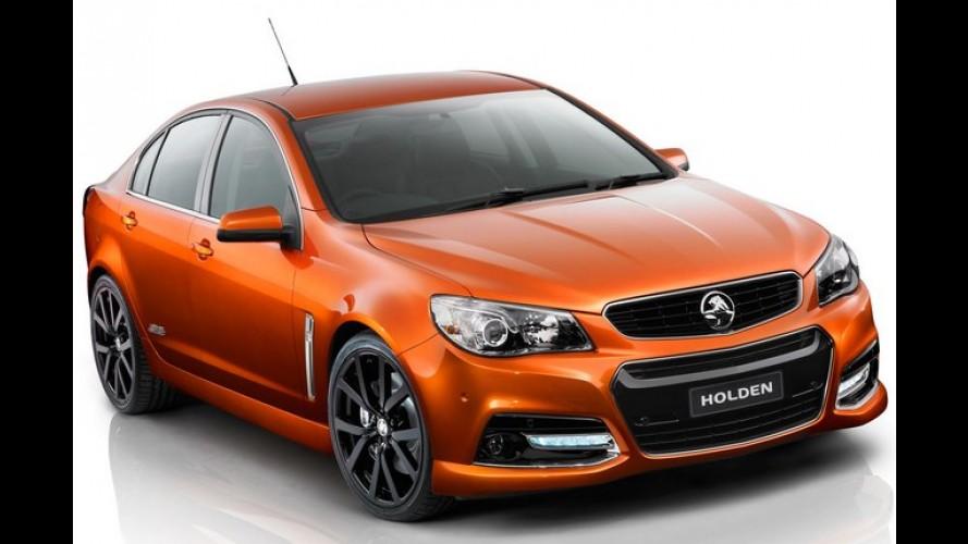 Omega esportivo? Holden Commodore SS-V é revelado na Austrália e antecipa novo Chevrolet SS