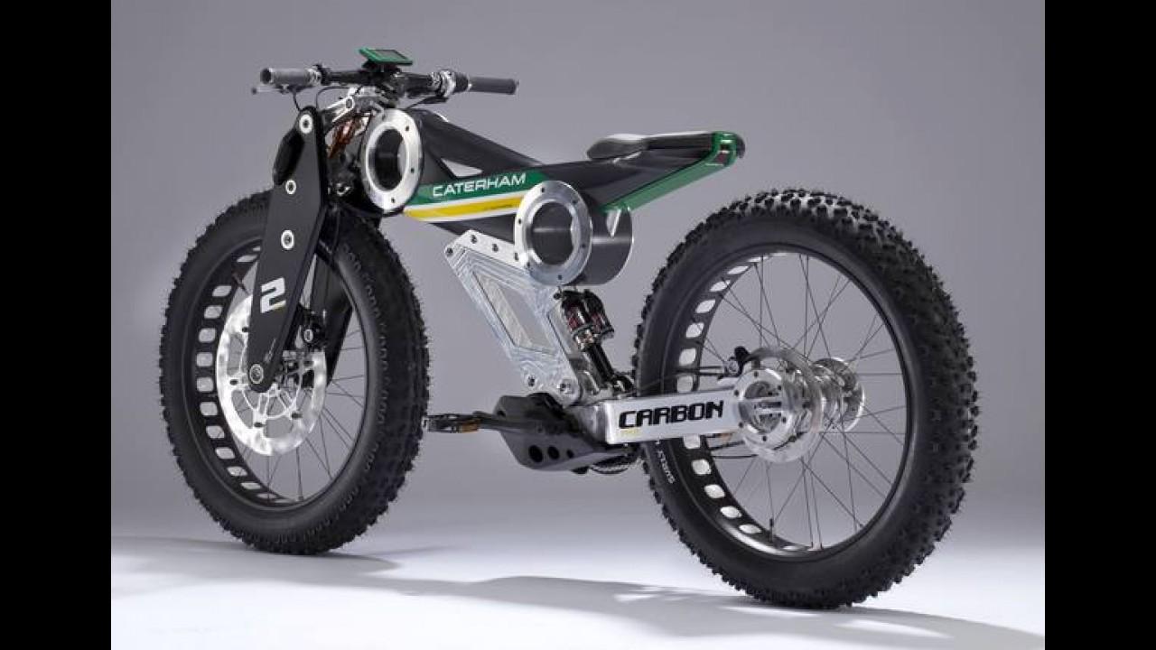 Caterham apresenta inédita divisão de motos no Salão de Milão