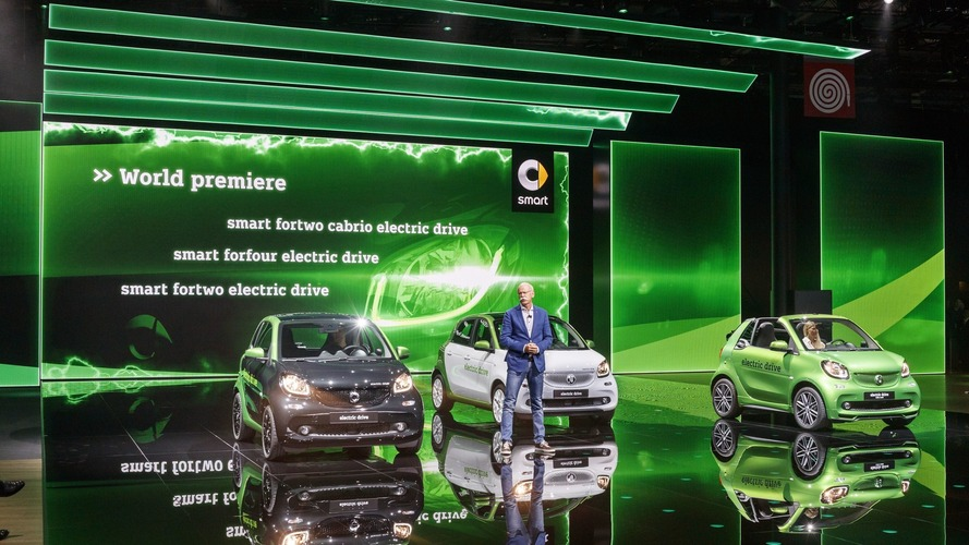 2017 Smart ForTwo Electric Drive arrives in Paris with €21,940 price tag