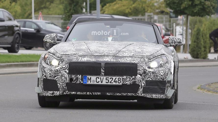 BMW Z5 spy photos