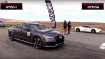 Audi RS 7 Leaves Ferrari 458 Italia Wondering What Happened