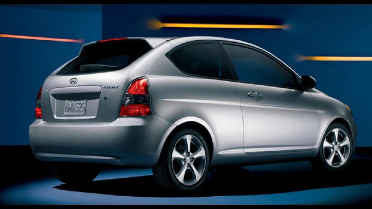 Hyundai Accent 2010 ganha versão Blue Edition e fica mais econômico nos EUA