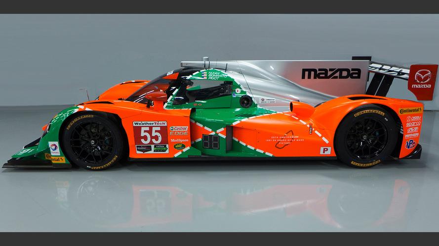 Mazda prototypes get vintage Le Mans livery for Watkins Glen race