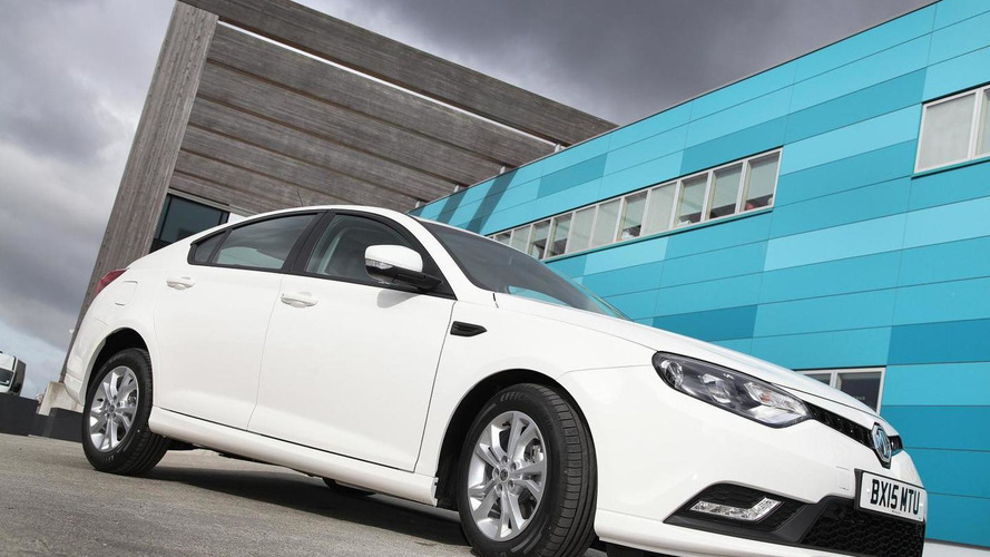 2015 MG6 revealed with improved diesel engine and more equipment
