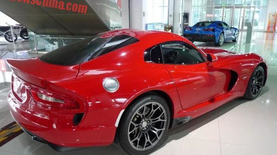 2015 Dodge Viper available in China for a hefty $479,000