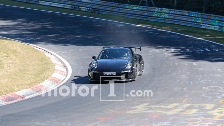 Photos espion Porsche 911 GT2 2018