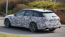 Audi RS4 Avant spy photo
