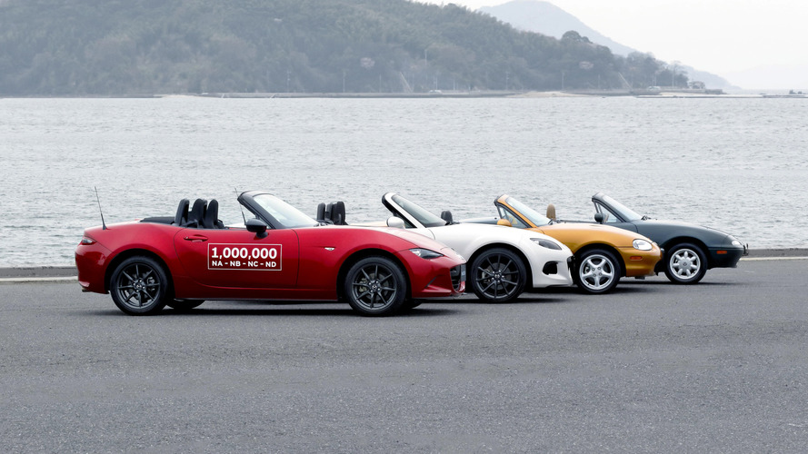 One-millionth Mazda MX-5 produced