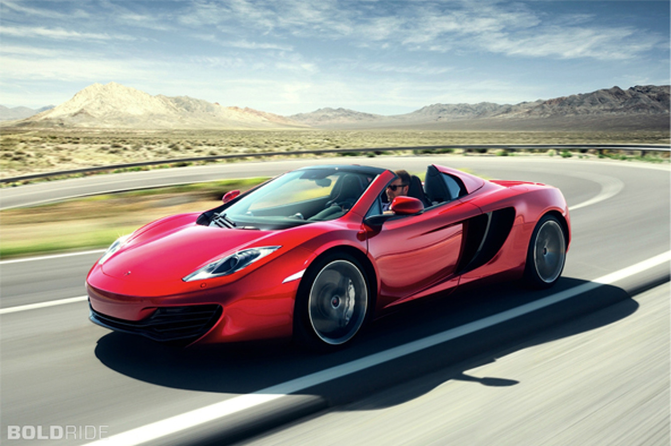 Most Popular: McLaren MP4-12C Spider