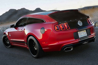 Shelby GT500 Shooting Brake is Ridiculous Yet Enticing