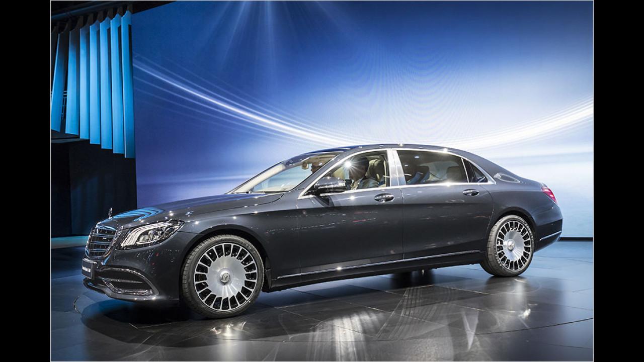 Mercedes S-Klasse Facelift