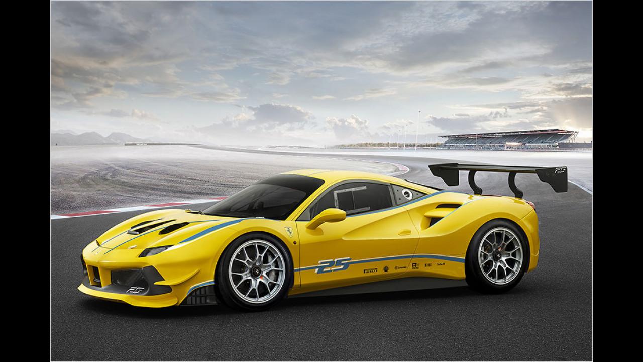 Der Ferrari 488 Challenge ist da