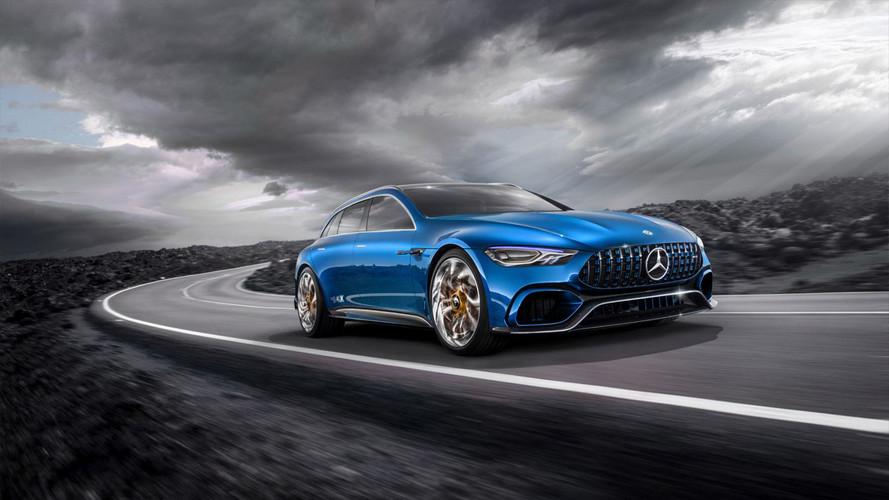 Mercedes-AMG GT Concept Wagon Render