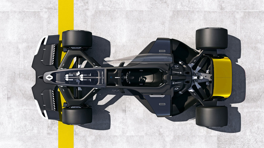 2027 Renault Formula 1 Concept For Shanghai Show Is An Ev