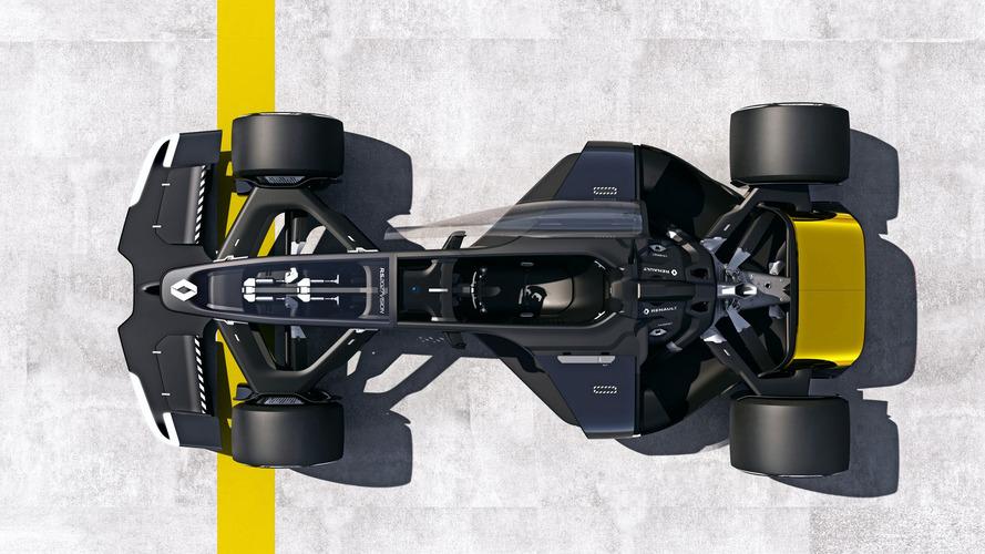 Renault R.S. 2027 Vision concept ... & 2027 Renault Formula 1 Concept For Shanghai Show Is An EV