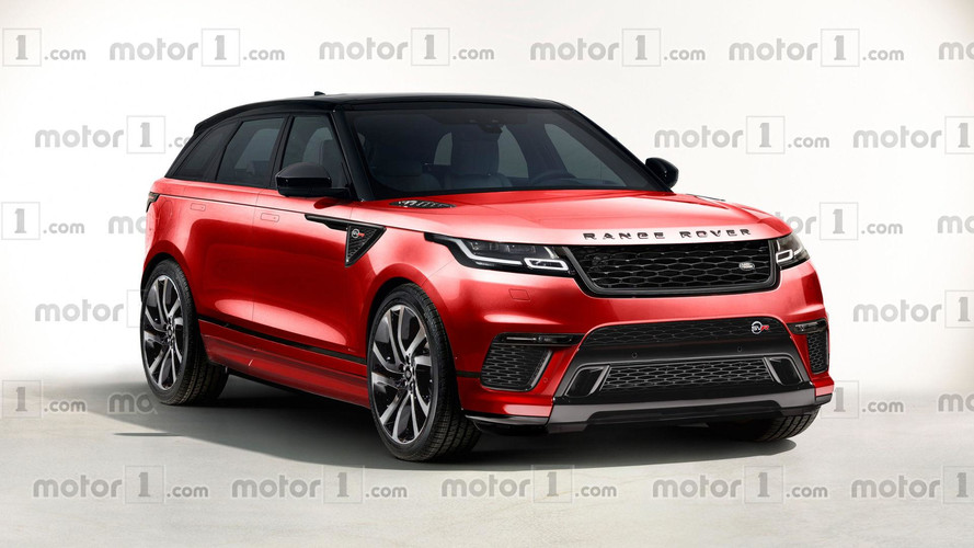 We Can Only Hope The Range Rover Velar SVR Will Look This Nice