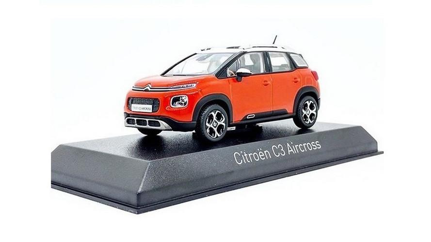 Novo Citroën C3 Aircross tem visual revelado por miniatura