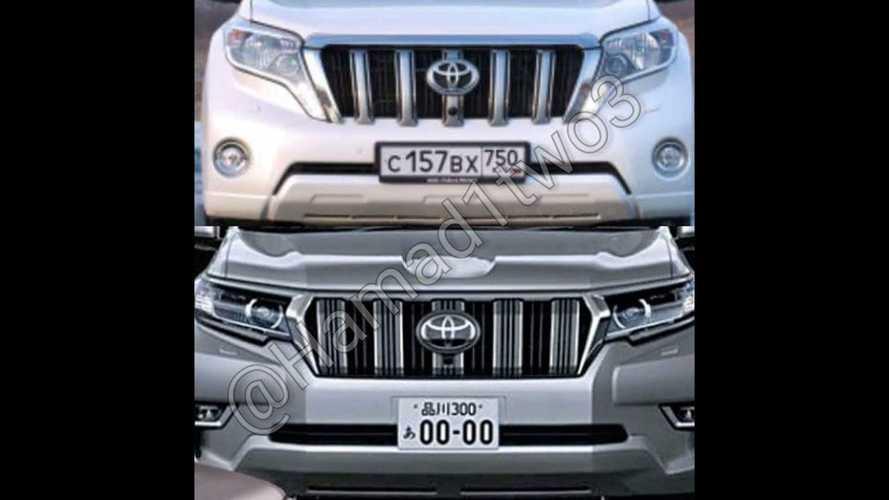 2018 Toyota Land Cruiser Prado facelift leaked official images