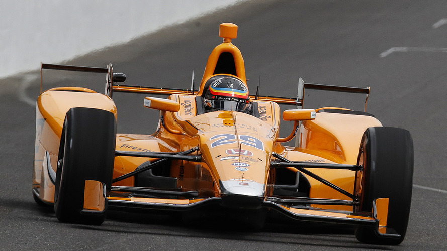 Get A Closer Look At Fernando Alonso's IndyCar