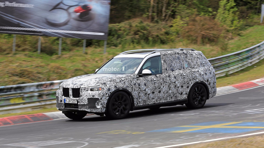 BMW X7 Concept Will Allegedly Have Fuel Cell Powertrain
