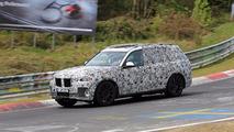 BMW X7 casus fotoğrafları - Nürburgring