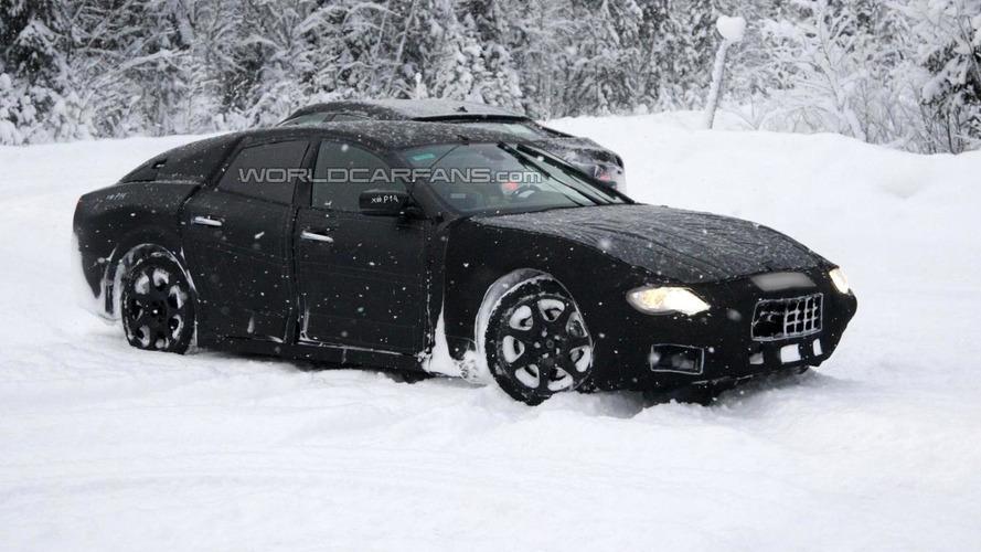 2013 Maserati Ghibli first spy photos emerge
